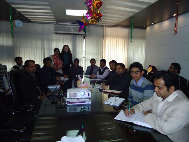 Training session in Bangladesh
