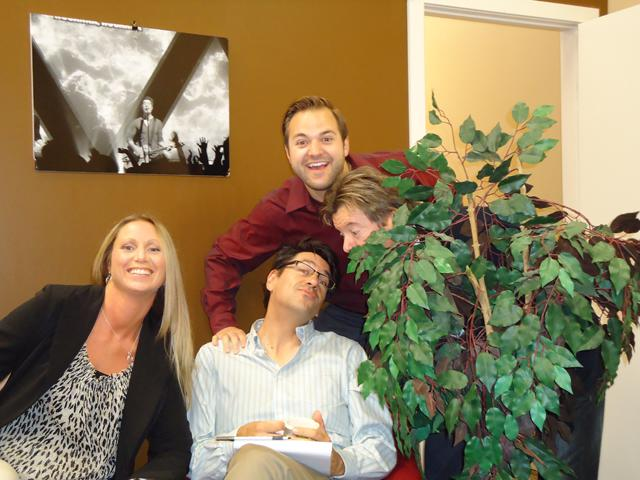 Shine FM sales staff in Calgary