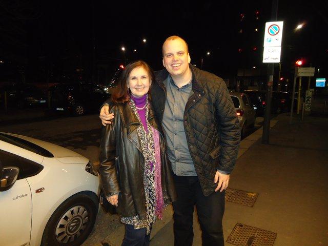 Pat at Siggi Gunnarsson at Radiodays Milan