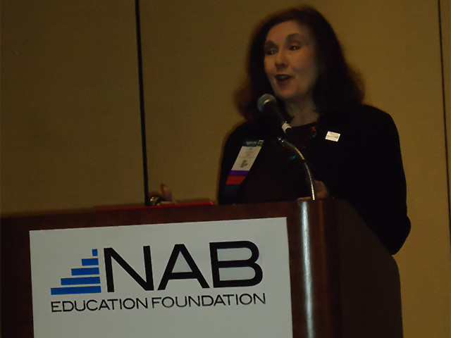 Session for students at the NAB
