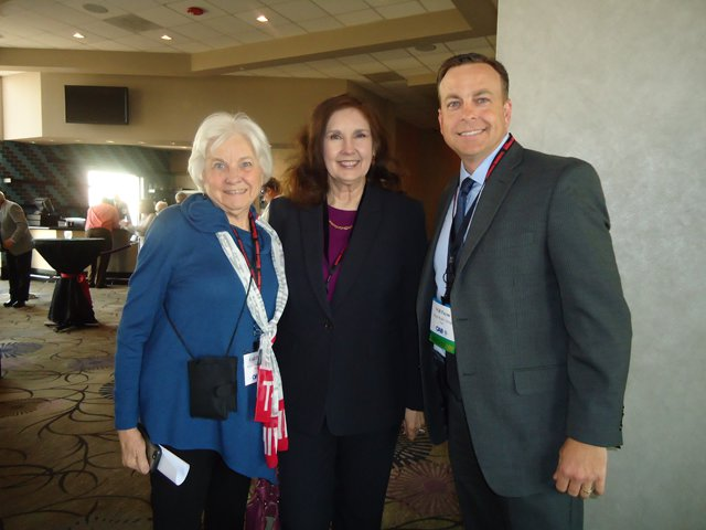 Pat with Gail and Will Payne