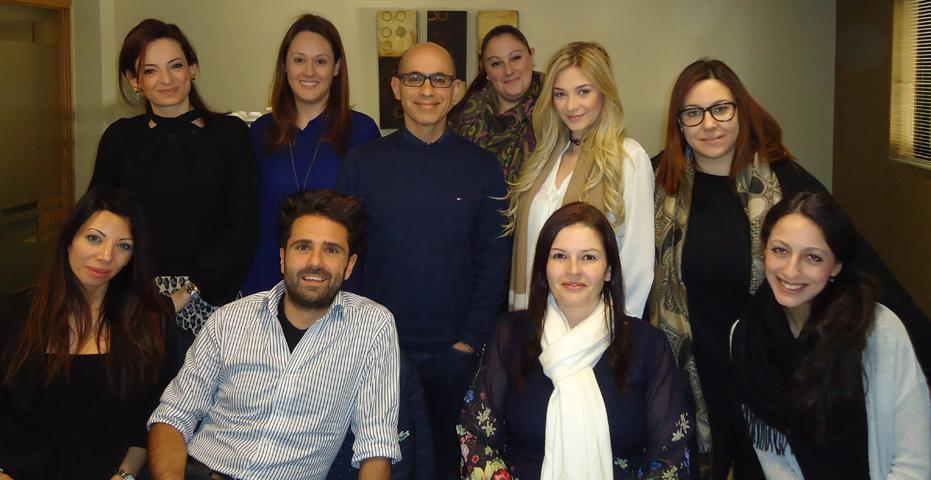 Sales team for Vibe FM
