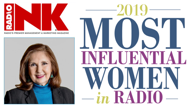 Radio Inc 2019 Most Influential Women in Radio - Pat Bryson